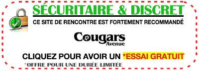 Cougars app-cougar française Avenue